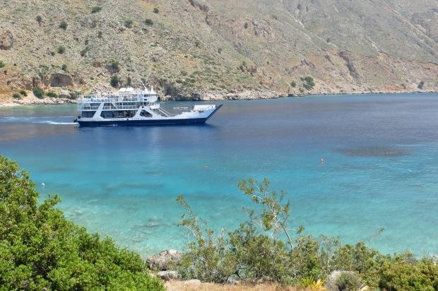 Ferry a Loutro, Creta